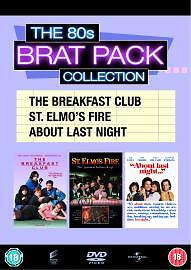 The 80s Brat Pack Collection [DVD], Good DVD, ,