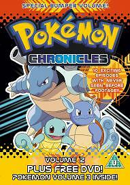 Pokemon-Chronicles-Volumes-2-And-3-DVD-BRAND-NEW-SEALED-FREEPOST