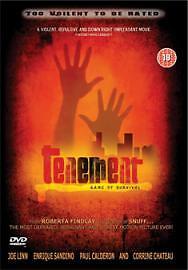 Tenement - Game Of Survival [DVD], Good DVD, Corrine Chateau, Paul Calderon, Enr