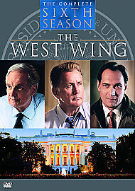 The-West-Wing-Series-6-DVD-2005-6-Disc-Set-Box-Set
