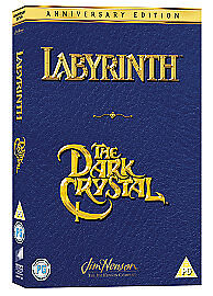 Labyrinth-The-Dark-Crystal-DVD-Anniversary-Edition-2007-Near-Mint-FREE-POST
