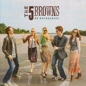THE 5 BROWNS No Boundaries CD ALBUM  NEW - NOT SEALED