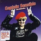 Captain Sensible - greatest very best hits singles collection - 19 track cd