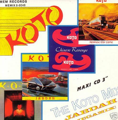 Italo MaxiCD Koto The Koto Mix Rare