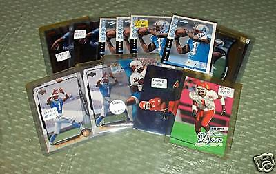 14 KEVIN DYSON ROOKIE LOT TENNESSEE TITANS UTAH UTES
