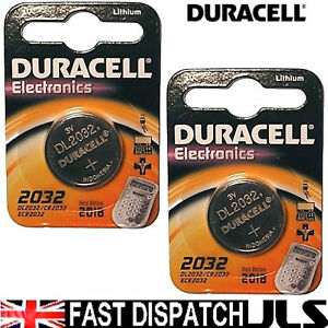 Car-Key-Alarm-Battery-2-Duracell-CR2032-Ford-Audi-BMW
