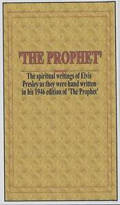 Booklet-w-copy-of-notes-Elvis-wrote-in-THE-PROPHET-book
