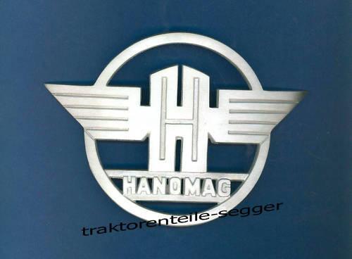 Haubenemblem Emblem Kühleremblem Hanomag R217 R324 R435 C112 Traktor G Foto 1