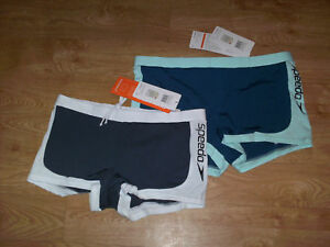 BNWT-WOMENS-SPEEDO-BOYLEG-SWIM-SHORTS-END-SIZES-8-18