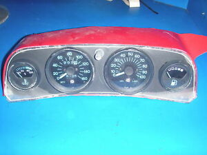 SKIDOO FORMULA PLUS GUAGES SPEEDO/TACH/FUEL/TEMP SET