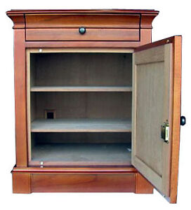 CIGAR HUMIDOR 500 + ct Large End Table Neo Maple NEW
