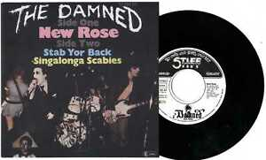 Damned-New-Rose-GERMAN-7-MINT-PIC-SLEEVE-PUNK