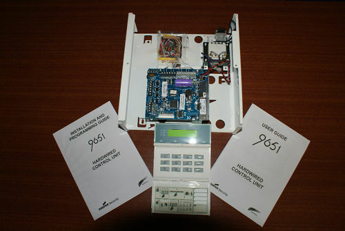 Scantronic 9651en41 Alarm Panel With 2 Remote Keypads