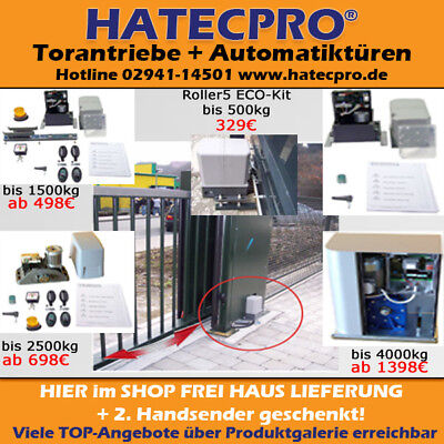 Schiebetor Tor Antrieb Schiebetorantrieb Hoftor Rolltor Einfahrtstor Selberbauen