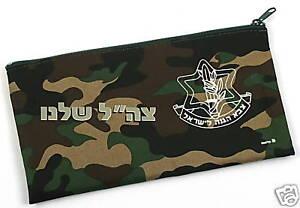 Israel-Zahal-IDF-Israeli-army-Defence-Forces-Pen-Case-School-Pencil-Holder