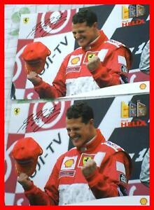 2x-Autogrammkarte-M-Schumacher