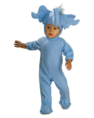 Dr Seuss Horton Hears Who Elephant Infant Child Costume - Dr Seuss Who Costumes