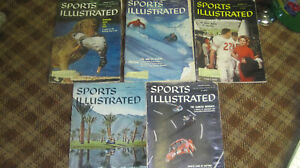 November-1959-Sports-Illustrated-set-5-issues
