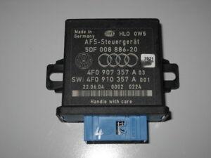 AUDI-A6-4F-S6-AFS-lumineux-loin-reglementation-APPAREIL-DE-COMMANDE-4f0907357a