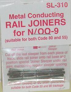 Peco-N-SL-310-Rail-Joiners-Metal-NEW-N-Gauge