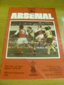 26041980 Arsenal v West Bromwich Albion  Folded It - <span itemprop=availableAtOrFrom>Birmingham, United Kingdom</span> - Returns accepted within 30 days after the item is delivered, if goods not as described. Buyer assumes responibilty for return proof of postage and costs. Most purchases from business s - Birmingham, United Kingdom