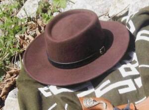 CLINT-EASTWOOD-SPAGHETTI-WESTERN-COWBOY-WOOL-HAT-NEW