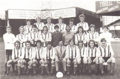 LINCOLN CITY FOOTBALL TEAM PHOTO 1978-79 SEASON