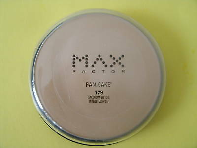 MAX FACTOR  Pan-Cake ( #129 Medium Beige) Foundation