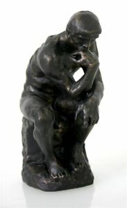 Auguste-Rodin-The-Thinker-Statue-Sculpture-Figure-MINT