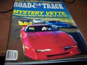 Road-amp-Track-Magazine-Feb-1988-Mystery-Vette