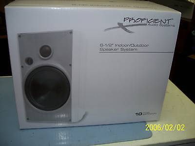 Pair Proficient Aw650w 6.5 Indoor/outdoor Speakers Awesome Deal