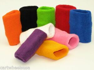 200-x-Cotton-Sweatband-Wristband-Sweat-Wrist-Band-Wholesale-Lot