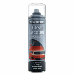 1x-500-ML-Simoniz-Car-Clear-Lacquer-Acrylic-Spray-Paint