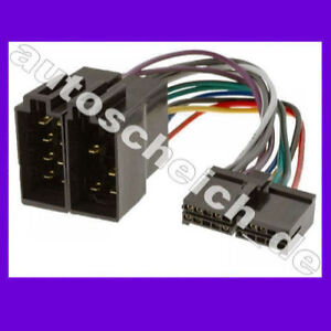 aeg prology autoradio kabel radio adapter stecker iso ebay. Black Bedroom Furniture Sets. Home Design Ideas