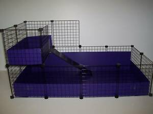 NEW-LARGE-56-034-x-28-034-Guinea-Pig-cage-with-2nd-level