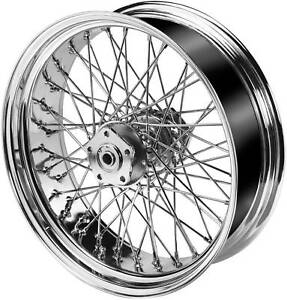 Ultima-Chrome-16-x5-5-60-Spoke-Wheel-for-200-Tire-Custom-Application