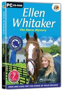 Ellen-Whitaker-the-Horse-Mystery-PC-CD-Game-New-Sealed-Free-US-Shipping