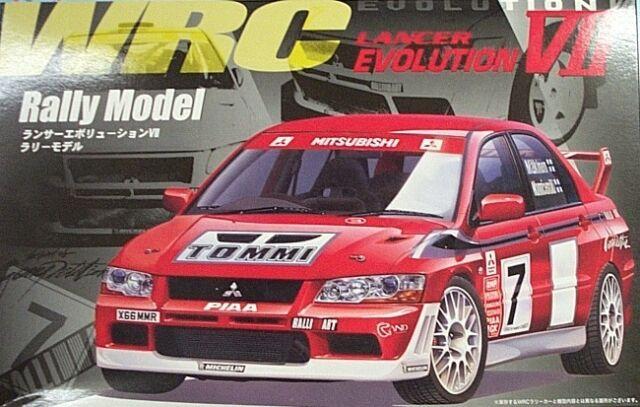 Fujimi 1 24 Mitsubishi Lancer Evo 7 Wrc Rally Race Ebay