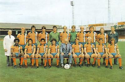 LUTON TOWN FOOTBALL TEAM PHOTO 1977-78 SEASON