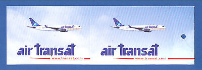 air transat canadian airlines baggage tag ebay