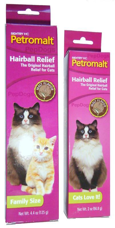 Sentry Hc Petromalt Cat Flavored Hairball Relief Remedy