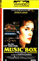 Music Box (1989) Vhs Vivivideo Costa Gravas Jessica Lange -  - ebay.it