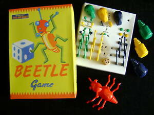 NEW-BEETLE-GAME-TRADITIONAL-RETRO-1950-039-s-VINTAGE-TOY