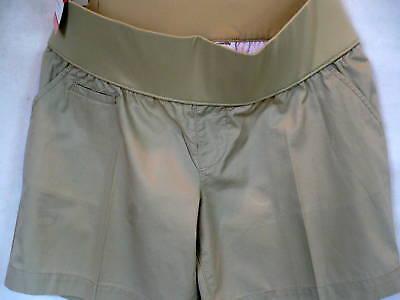Liz Lange Target Beige Twill Shorts