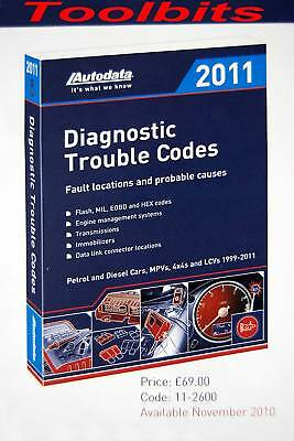 Autodata Diagnostic Trouble Codes 2011. 11-2600