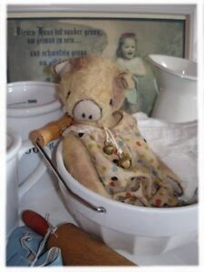 Sewing Kit For 10 5 Inch Piggy (Inl. Ready Made Romper Suit