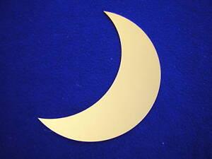 Miroir sticker couleur d co croissant de lune orang ebay for Miroir sur la lune
