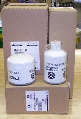 Holland Ls180.b Skid Steer Filter Service Kit Standard Flow Hydraulics