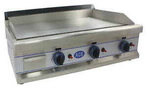 NEW ACE HEAVY DUTY LPG GAS GRIDDLE HOTPLATE 90cm bed