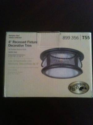 Hampton Bay 4 Recessed Fixture Ceiling Light T55
